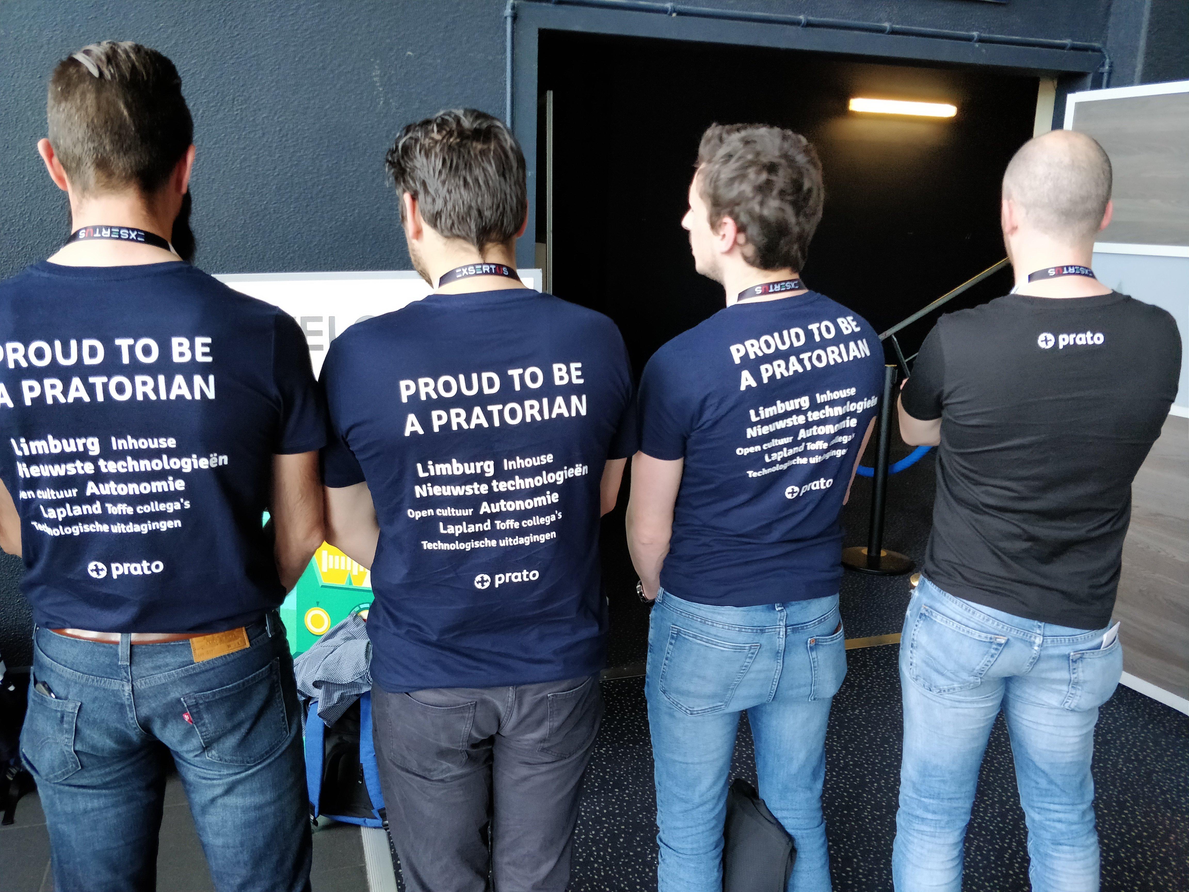 Blog: Een dag uit het leven van een Pratorian